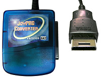 Playstation to SEGA Saturn joypad converter.