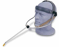 Head Pointer, also known as a Head Wand.