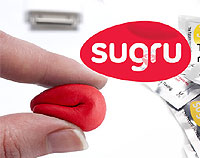 SUGRU rubber compound pouch.