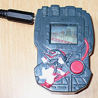 Image of Switch Adapted Shadow the Hedgehog - SEGA / McDonalds Happy Meal LCD Toy.