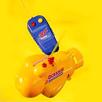 Adapted Radio Control Submarine.