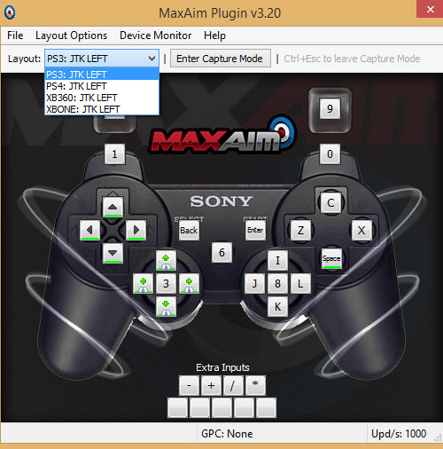 MaxAim with ULTRA profile for Playstation 3.