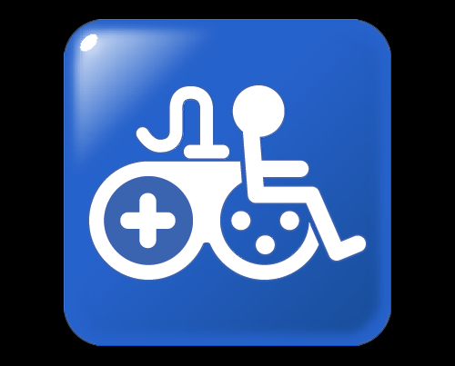 Game Accessibility Information Symbol.