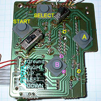 5. Solder wires to PCB (click to enlarge).