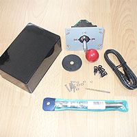 1. What You Will Need: Image Box, Ultra-Stik joystick, Drill bits, USB cable and nuts and bolts.
