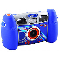 1. What you will need. Image of a blue VTech Kidizoom digital camera.