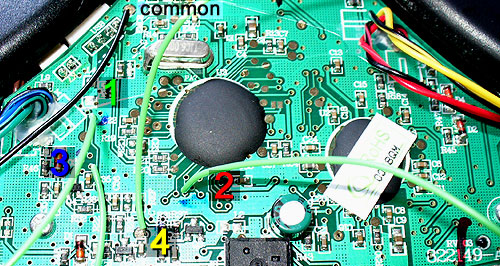 4. Xbox 360 Rock Band PCB Wiring Guide.
