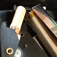 7. Wiper and resistor coil.