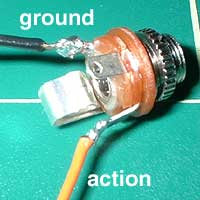 6. Solder your socket.